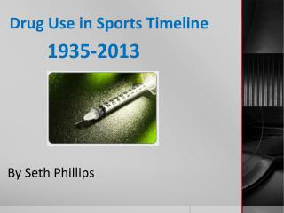 Drug Use in Sports Timeline