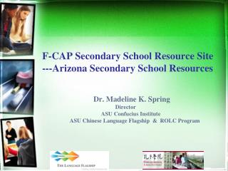 F-CAP Secondary School Resource  Site ---Arizona Secondary School Resources