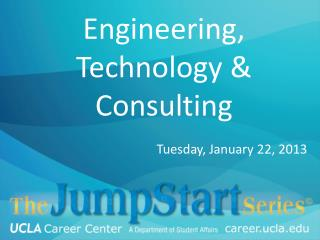 Engineering, Technology & Consulting