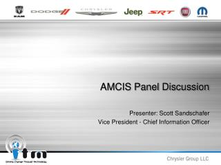 AMCIS Panel Discussion