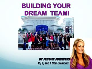 BUILDING YOUR  DREAM   TEAM!                 BY JENELLE SUMMERS