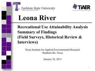 Leona River