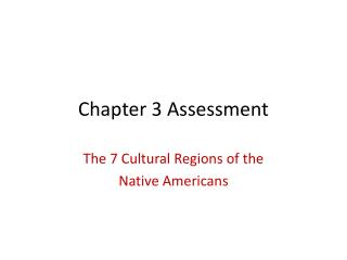 Chapter 3 Assessment
