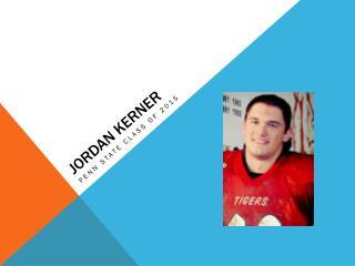 Jordan  Kerner
