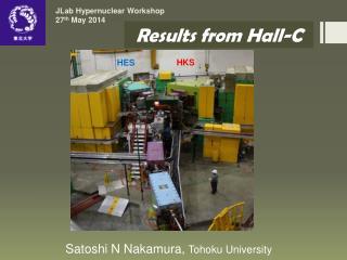 JLab  Hypernuclear  Workshop 27 th  May 2014