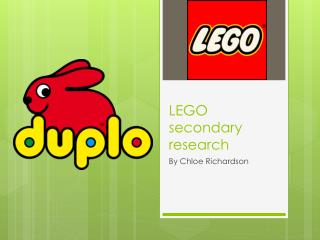 LEGO secondary research