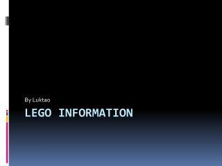 Lego Information