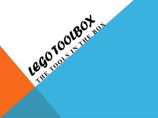 LEGO  ToolBox