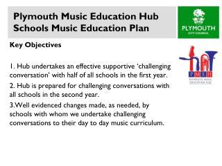 Plymouth Music Education Hub Schools Music Education Plan