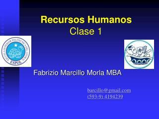 Recursos Humanos Clase 1