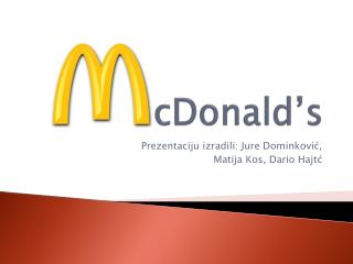 McDonald 's