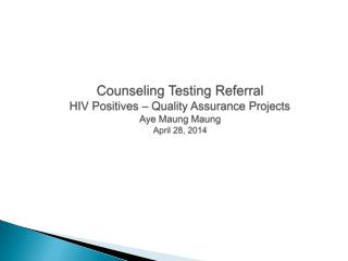 687 positive cases tested in 2013 were reported in the Evaluation Web.