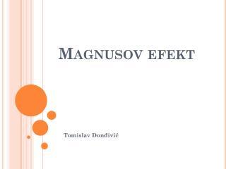 Magnusov efekt