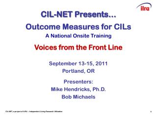 CIL-NET Presents…