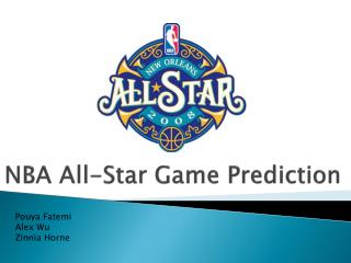 NBA All-Star Game Prediction