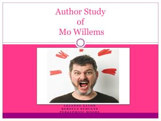 Author Study of Mo  Willems