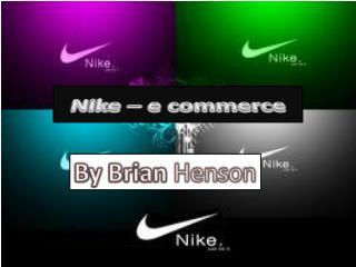 Nike � e commerce