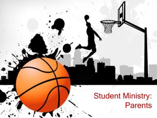 Student Ministry: Parents