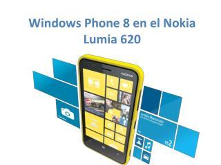 Windows  Phone  8 en el Nokia Lumia 620