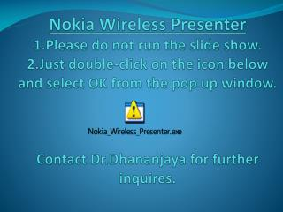 download nokia wireless presenter