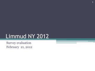 Limmud NY  2012