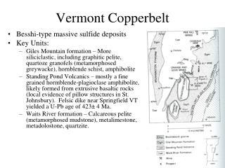 Vermont Copperbelt