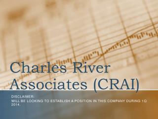 Charles River Associates (CRAI)