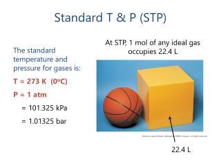 Standard T & P (STP)