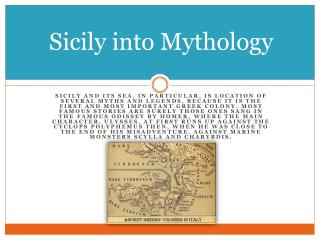 Sicily into Mythology
