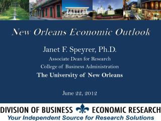 New Orleans Economic Outlook