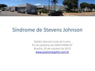 Síndrome de Stevens Johnson
