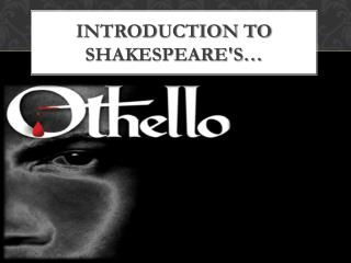 Introduction to Shakespeare's…