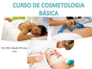 CURSO DE COSMETOLOGIA BÁSICA