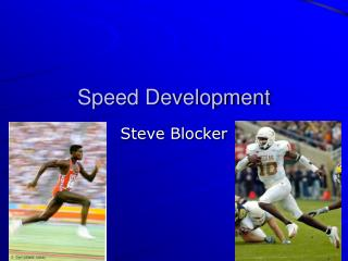 Speed Development