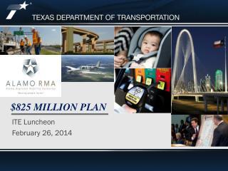$825 Million Plan