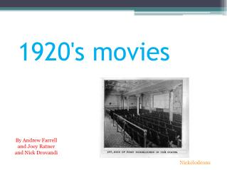 1920's movies
