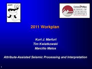 2011  Workplan