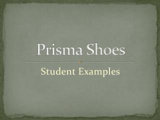 Prisma Shoes