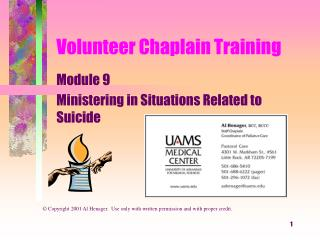 Volunteer Chaplain Training