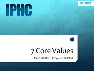 7 Core Values