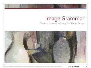 Image Grammar