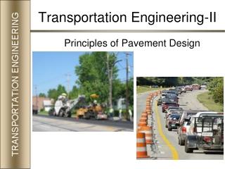 Principles of Pavement Design