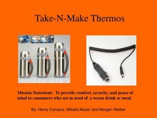 Take-N-Make Thermos