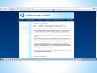 University Network App Website Explanation