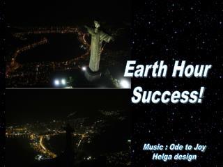 Earth Hour Success