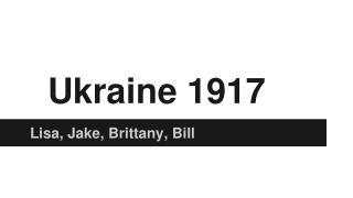 Ukraine 1917