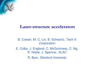 Laser-structure accelerators