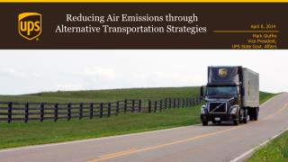 Reducing Air Emissions through Alternative Transportation Strategies