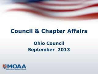 Council & Chapter Affairs