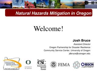 Natural Hazards Mitigation in Oregon